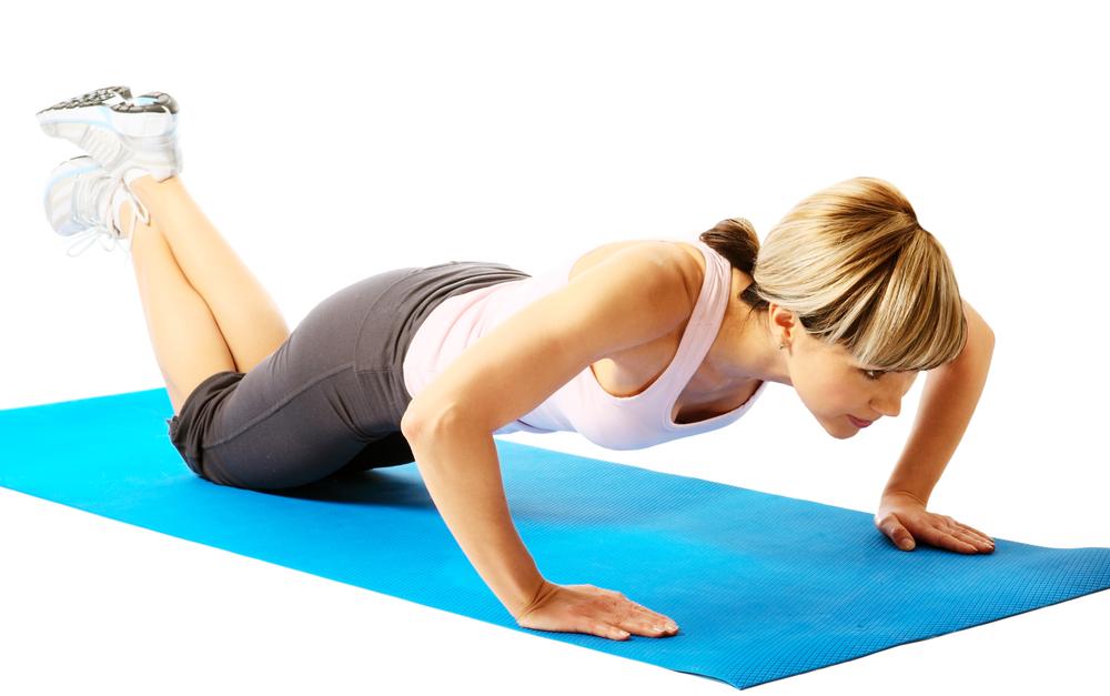 knee-pushup